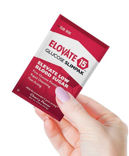Elovate 15 glucose powder for diabetics