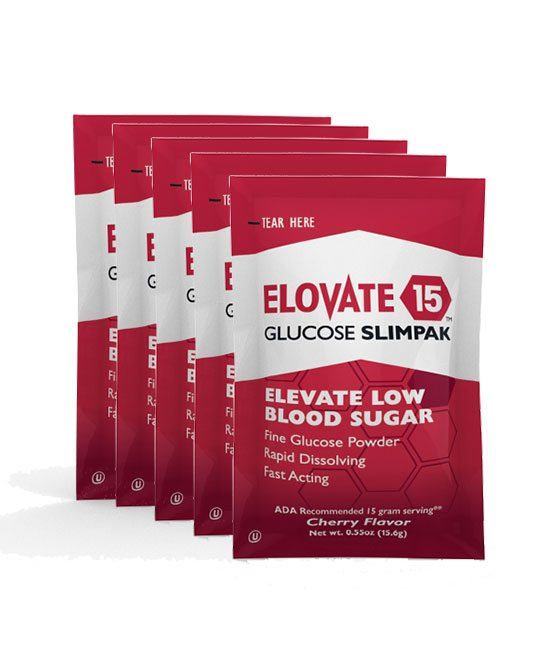Elovate 15 glucose powder for diabetics - 5 pack