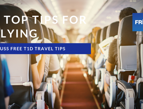 5 tips to help you fly fuss-free with t1d